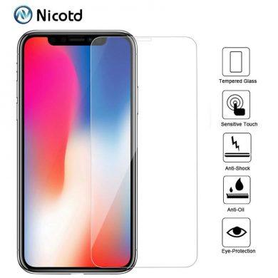 Folie Sticla Iphone X NICOTD apple reducere