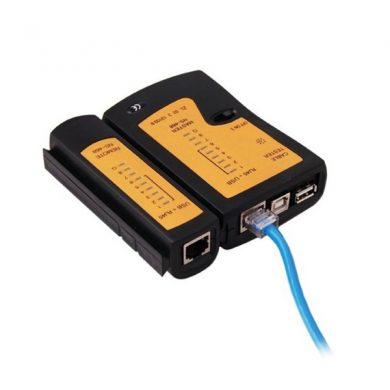 Tester cablare retea - tester cablu UTP RJ45 RJ11 RJ12_ CAT5 LAN CABLE - reducere