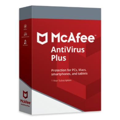 mcafe - optimus store - antivirus
